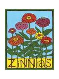 Zinnias  2004