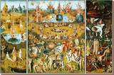 The Garden of Earthly Delights  c1504