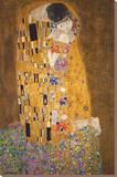 Le baiser Tableau sur toile par Gustav Klimt