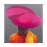 Magenta Hat  Saffron Jacket  2014