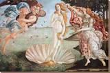 The Birth of Venus, c. 1485 Tableau sur toile par Sandro Botticelli