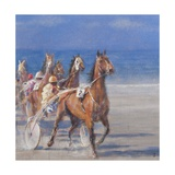Trotting Races  Lancieux  Brittany  2014
