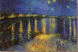 Starry Night Over the Rhone  c 1888