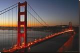 Pont du Golden Gate, San Francisco Tableau sur toile par Vincent James