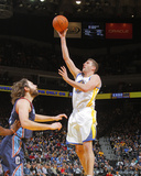 Feb 4  2014  Charlotte Bobcats vs Golden State Warriors - David Lee  Josh McRoberts