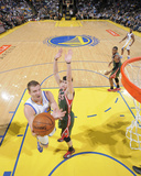 Mar 20  2014  Milwaukee Bucks vs Golden State Warriors - David Lee  Ersan Ilyasova