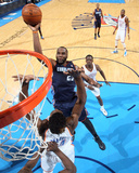 Mar 3  2014  Charlotte Bobcats vs Oklahoma City Thunder - Al Jefferson