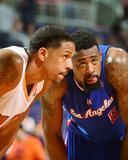 Mar 4  2014  Los Angeles Clippers vs Phoenix Suns - Channing Frye  DeAndre Jordan