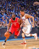 Apr 21  2013  Houston Rockets vs Oklahoma City Thunder (Game One) - Thabo Sefolosha  James Harden