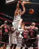 Apr 4  2013  Chicago Bulls vs Brooklyn Nets - Carlos Boozer  Brook Lopez