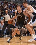 Nov 3  2013  Brooklyn Nets vs Orlando Magic - Brook Lopez  Nikola Vucevic