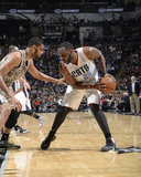 Feb 28  2014  Charlotte Bobcats vs San Antonio Spurs - Al Jefferson