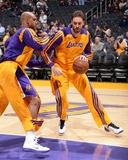 Feb 21  2014  Boston Celtics vs Los Angeles Lakers - Robert Sacre  Pau Gasol