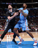 Dec 22  2013  Minnesota Timberwolves vs Los Angeles Clippers - DeAndre Jordan  Kevin Love