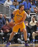 Jan 24  2014  Los Angeles Lakers vs Orlando Magic - Pau Gasol