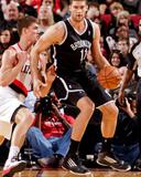 Mar 27  2013  Brooklyn Nets vs Portland Trail Blazers - Brook Lopez