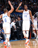 Mar 30  2014  Utah Jazz vs Oklahoma City Thunder - Russell Westbrook  Kevin Durant
