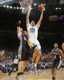 Mar 22  2014  San Antonio Spurs vs Golden State Warriors - David Lee  Tiago Splitter