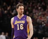 Mar 3  2014  Los Angeles Lakers vs Portland Trail Blazers - Pau Gasol