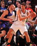 Nov 15  2013  Brooklyn Nets vs Phoenix Suns - Brook Lopez  Miles Plumlee