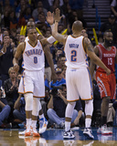 Mar 11  2014  Houston Rockets vs Oklahoma City Thunder - Russell Westbrook  Caron Butler