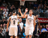 Nov 5  2013  Utah Jazz vs Brooklyn Nets - Brook Lopez  Deron Williams