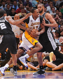 Apr 28  2013  San Antonio Spurs vs Los Angeles Lakers (Game Four) - Tim Duncan  Dwight Howard