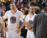 Mar 22  2014  San Antonio Spurs vs Golden State Warriors - David Lee  Stephen Curry
