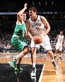 Dec 10  2013  Boston Celtics vs Brooklyn Nets - Brook Lopez  Kris Humphries