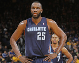 Feb 4  2014  Charlotte Bobcats vs Golden State Warriors - Al Jefferson