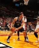 Oct 25  2013  Brooklyn Nets vs Miami Heat - Brook Lopez
