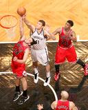 May 4  2013  Chicago Bulls vs Brooklyn Nets (Game Seven) - Joakim Noah  Brook Lopez