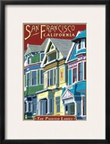 San Francisco  California - Painted Ladies