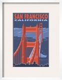 San Francisco  California - Golden Gate Bridge