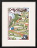 San Francisco  California - Lombard Street