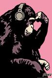 Monkey Thinker - Pink