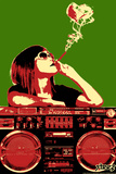 Boom Box Joint - Red/Green