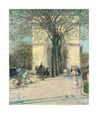 Washington Arch  Spring  1890