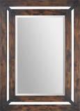 Maverick Double Frame Wood Mirror