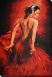 Red Dancer - Flamenco