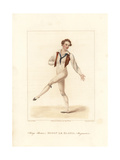 Etienne Le Blond  Ballet Dancer  1822