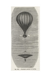 Robert Cocking's Ill-Fated Inverted Cone Parachute  1837