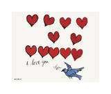 I Love You So, c. 1958 Giclée par Andy Warhol