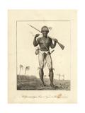 A Coromantyn Free Man or Ranger  Armed