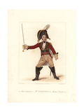 Samuel Simmons in Harlequin Munchausen  1822