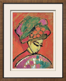 Young Girl with a Flowered Hat