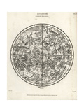 Astronomical Chart of the Northern Hemisphere