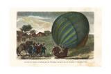 First Manned Hydrogen Balloon Flight