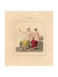 Fresco from Herculaneum  Erotic Scene