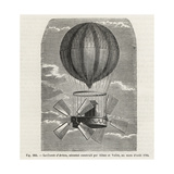 The Comte d'Artois Balloon with Propellers Built by Alban